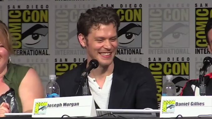 Happy birthday to the joseph morgan! love you so so much thanks for always putting a smile on my face