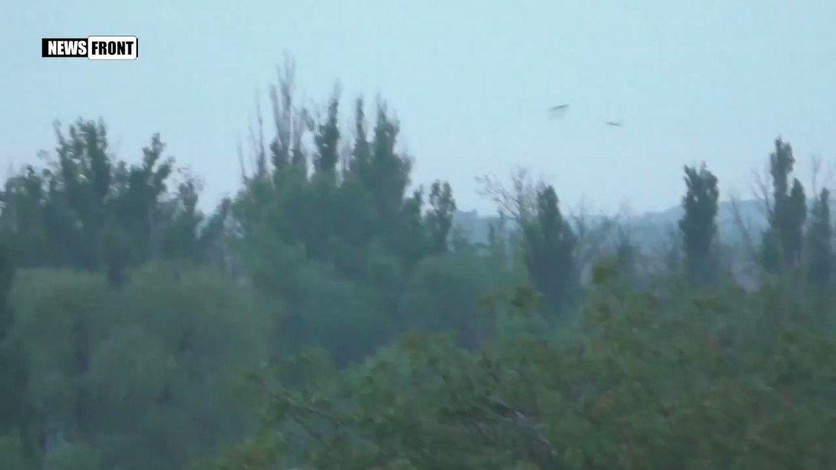 Fierce fighting at Spartak, N-W Donetsk this morning