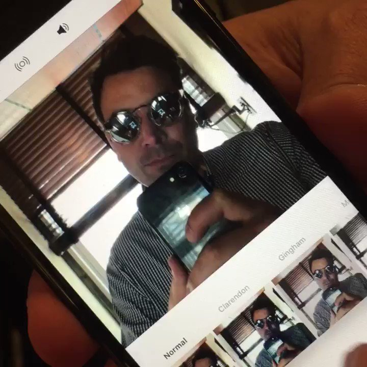 This is Twitter video about an Instagram video with Snapchat glasses #...