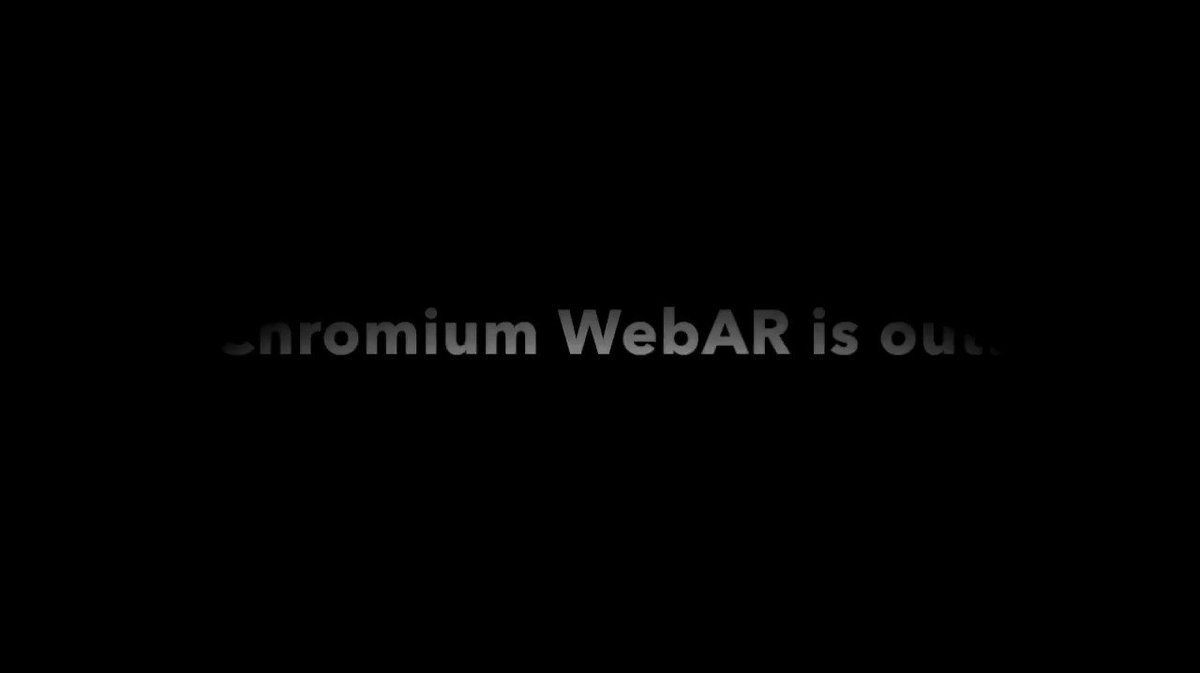 Chromium WebAR is out!!! 👍 Checkout a few demos i did with it, so yummy 😜 #AR #googleio17
