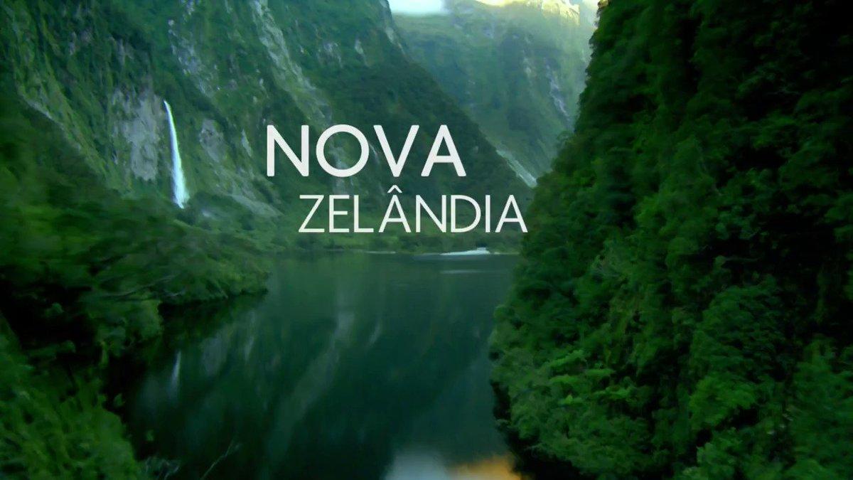 Nesta sexta (19), você vai conhecer o mundo selvagem da Nova Zelândia....