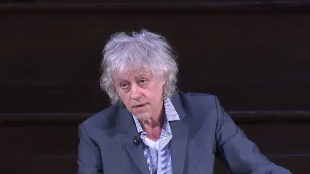 """We know we are on the route to a catastrophic ending, and all of us in this room and outside need to prevent that at all costs"" BOB GELDOF"
