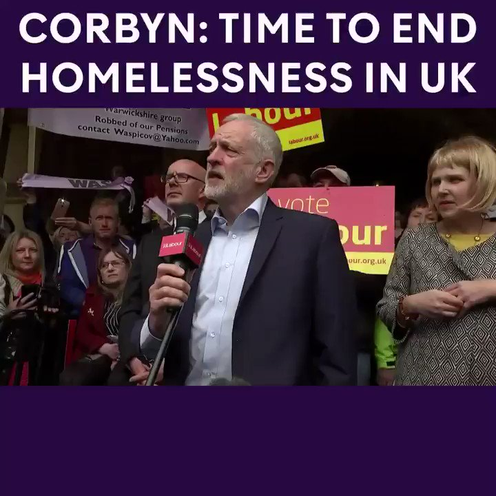 Time to end homelessness in the UK . Vot...