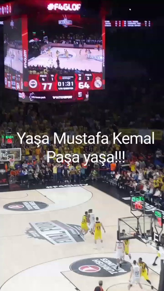 Tebrikler Fenerbahçem.👏👏 Hem Atamızı and...