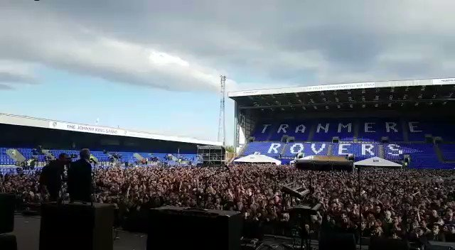 Jeremy Corbyn has just addressed 20,000 people at Prenton Park. Never seen anything like this. #ForTheMany https://t.co/npMe7uCBwE