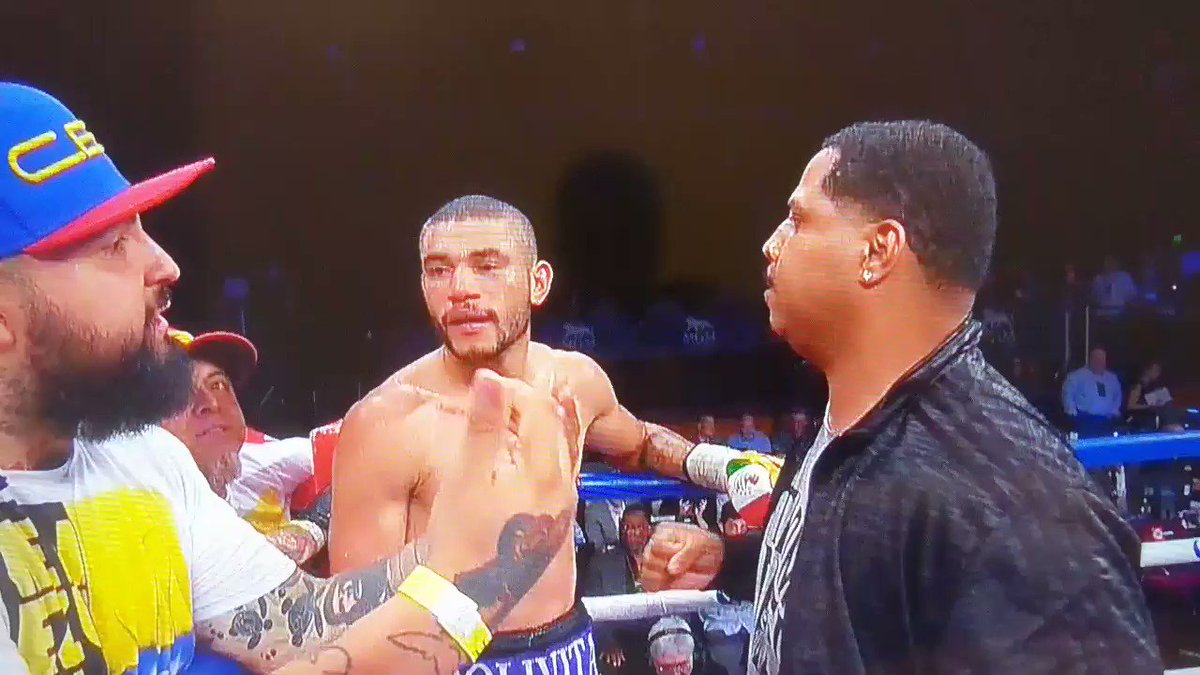 Andre Dirrell wins ugly DQ over Jose Uzcategui