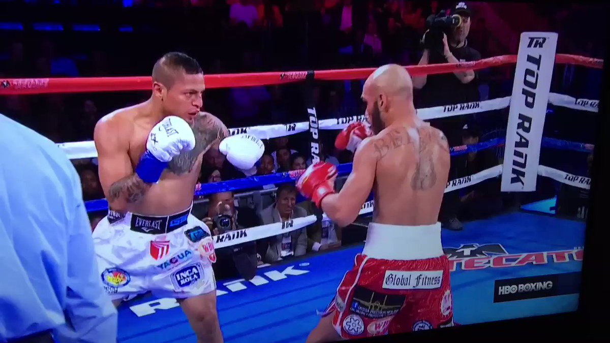 Here's the Ray Beltran knockout of Jonathan Maicelo. Candidate for KO of the year. #boxing #BeltranMaicelo https://t.co/Uf9hGCBfVn