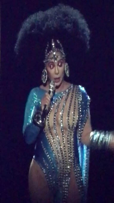 Happy 71st Birthday Cher 71 hasn\t never looked so young!!! your Vegas show Rocked!!!
