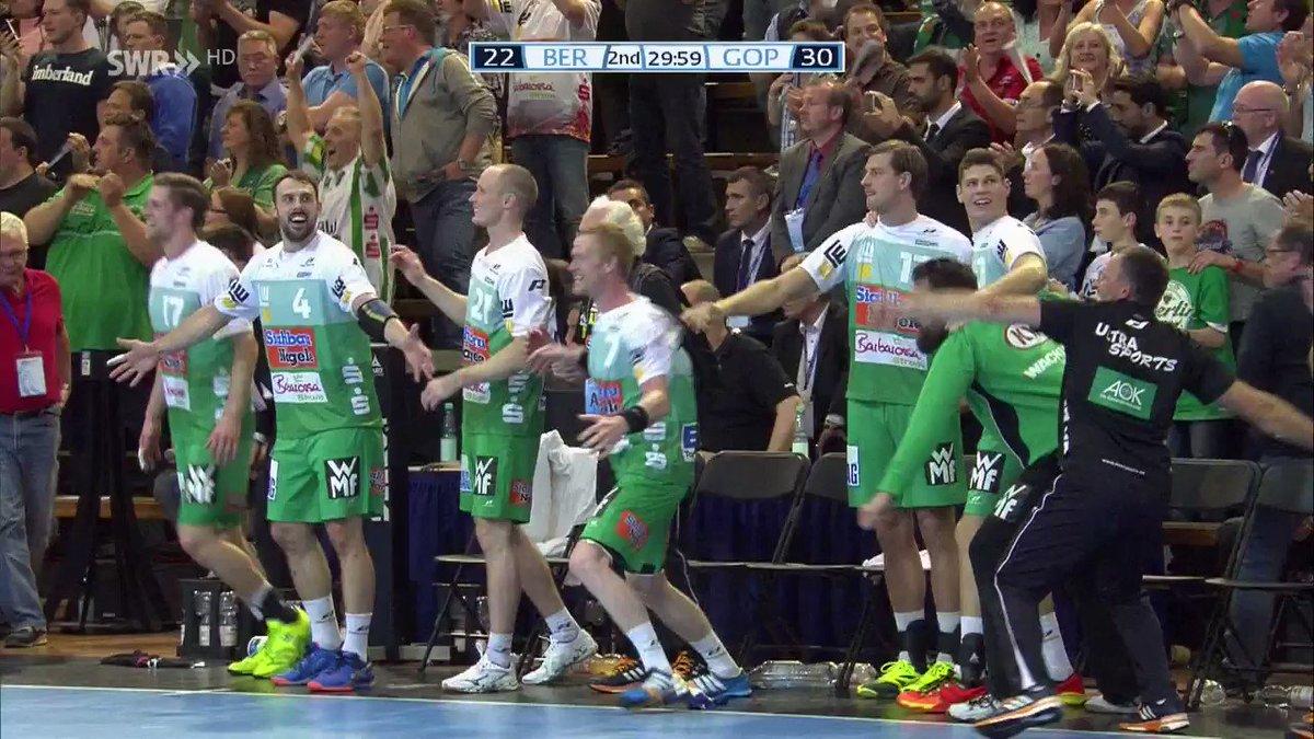 RT @SWRsport: So jubelt übrigens @FRISCHAUFGP über den EHF-Titel! https://t.co/OYGmHuzcGC
