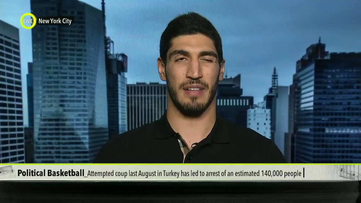 My conversation with @Enes_Kanter... https://t.co/wozfLW5pi9