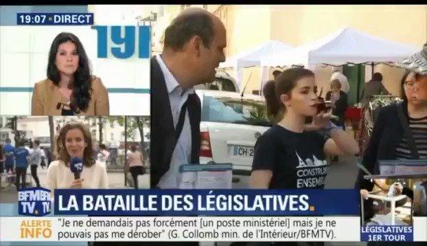 Je suis dans une logique d'une droite modérée, ouverte, moderne et constructive. #legislatives #BFMTV