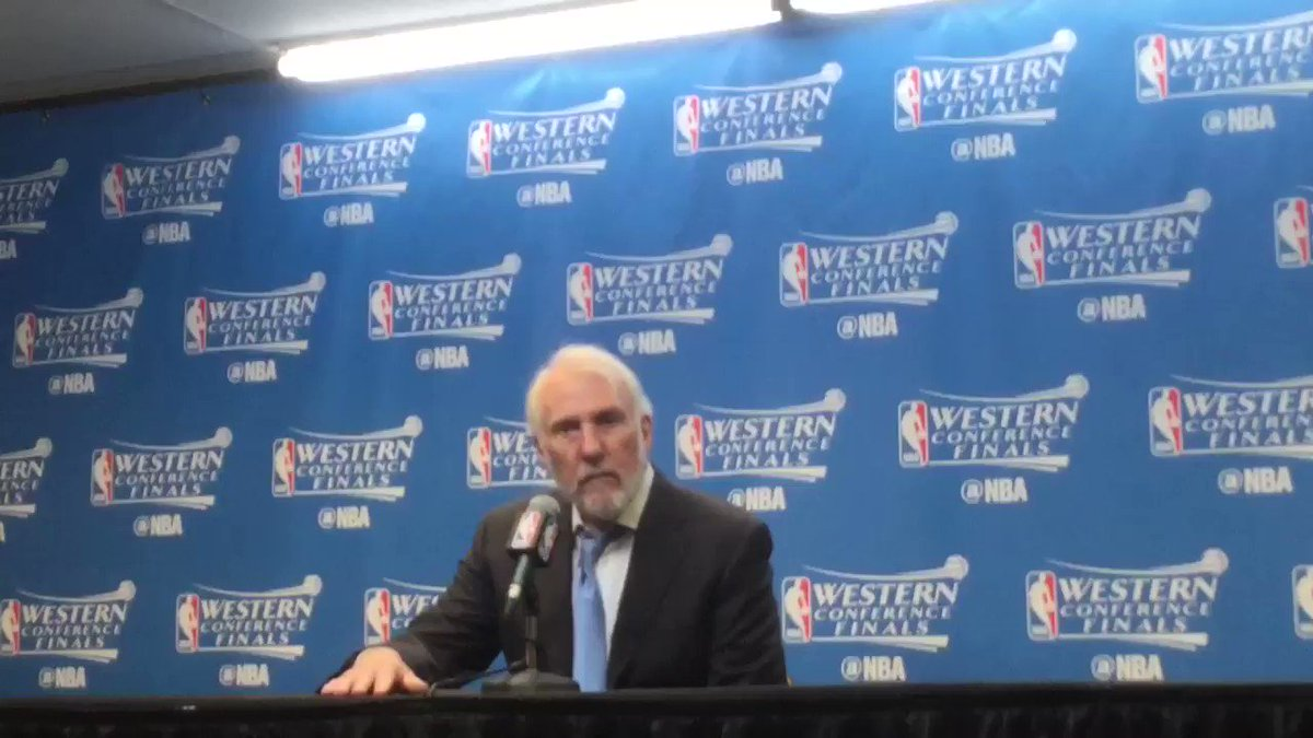 Popovich on Ginobili ... #Spurs #Warriors https://t.co/KbMhGvnjky