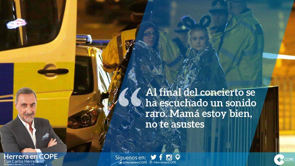 Llamada de una joven española a su madre desde #Manchester: ''Estoy bien, no te asustes por favor'' https://t.co/UdtyUuG5SQ