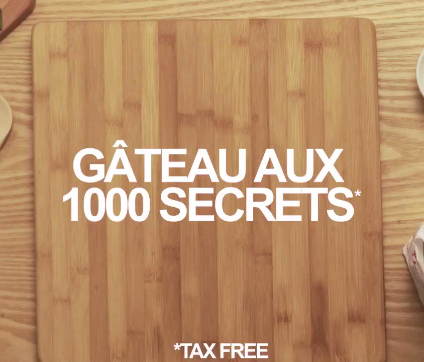 Secrecy cake (tax free)