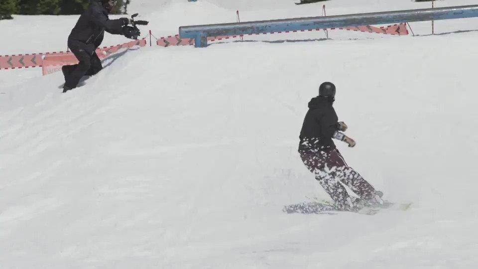 Magnus Granér does a ski trick 900 at the @spyoptic team shoot at @mtbachelor #SeeHappy https://t.co/UHkqdjhuxP