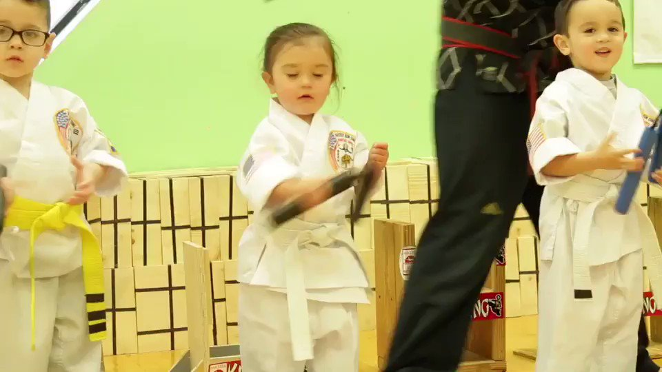 Check Meilani kickin butt in her first Karate class link in bio https://t.co/OHAtevv7iu