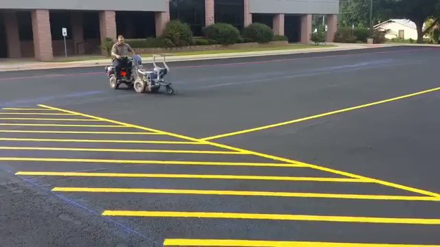 This dude is the Beyonce of parking lot painting. https://t.co/ue2m2Gb9HK