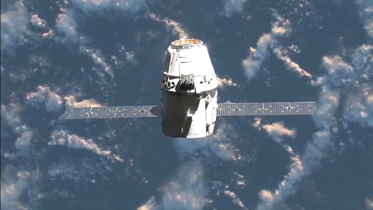 Five years ago today, Dragon became the first commercial spacecraft to visit the @Space_Station.