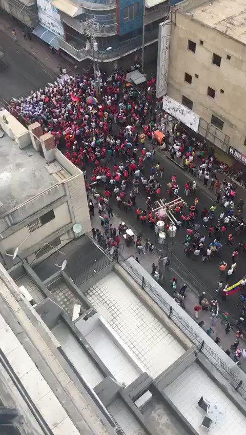 La 'masiva' concentración del PSUV en Puerto La Cruz para ver a súperlider Diosdado Cabello...  Jajajajajajajajaja
