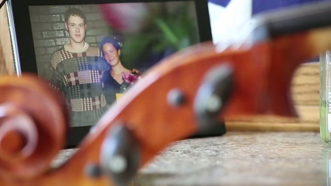 At Memorial Day, a sister's tribute to a fallen soldier. Coming Friday from @AP.