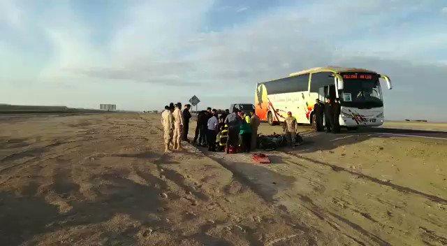 RT @HombredeRadio [POZO ALMONTE] Motorista es arrollado por un camión en Ruta 5, cerca del Fuerte Baquedano. Bomberos y SAMU en el lugar (#Iquique) @biobio