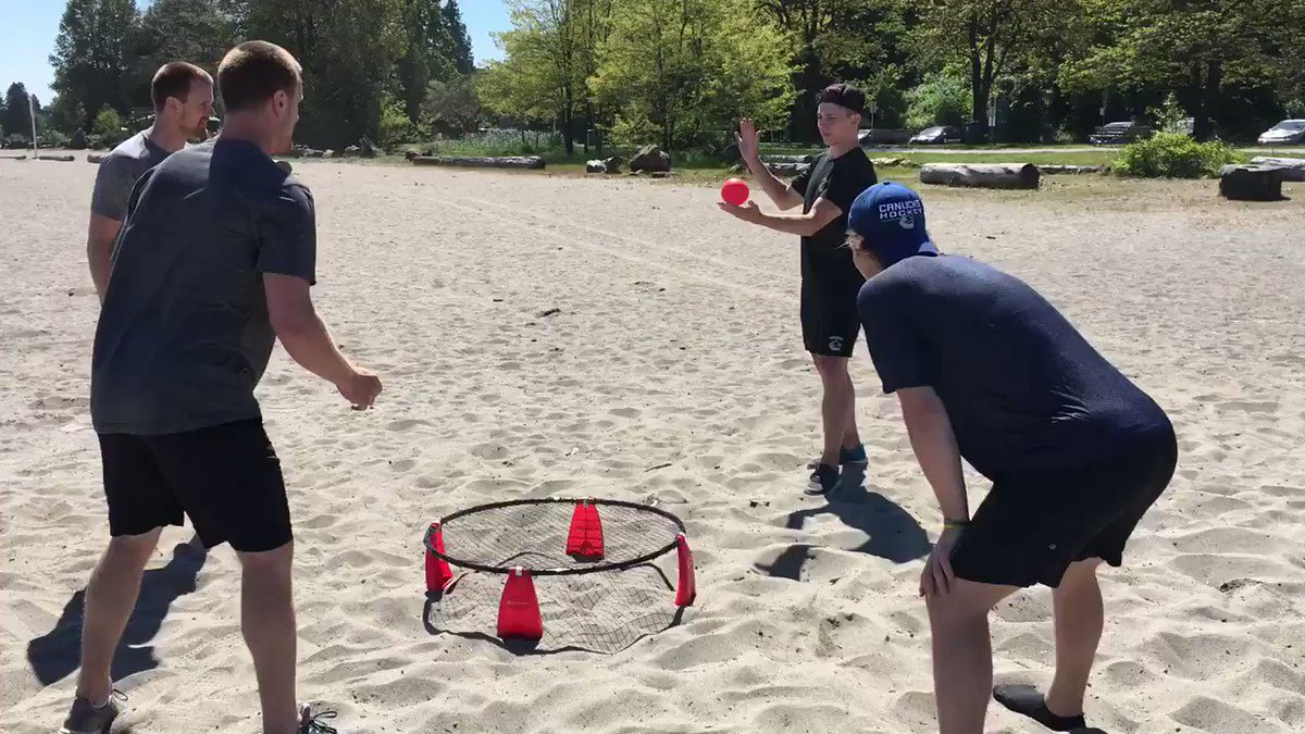 Spikeball. North Dakota bros vs. actual bros. https://t.co/Vc7aljkzWf