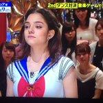セーラームーンの格好した メドベージェワちゃんが AKB48の恋するフォーチュンクッキーを踊るとか …