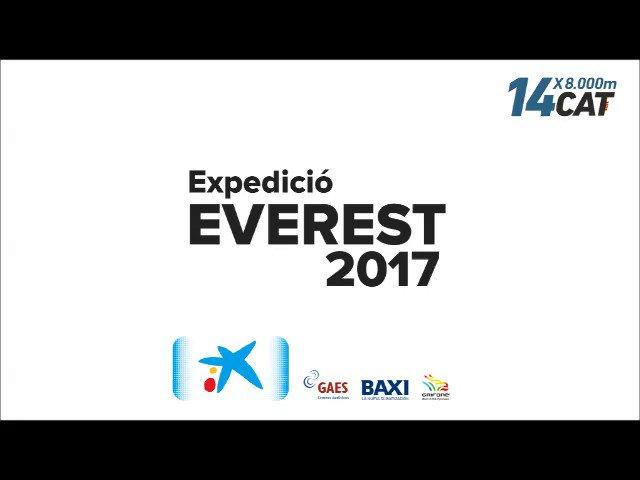 Comparteixo vídeo del moment que faig cim a l'Everest amb ús d'oxigen artificial. Moltes gràcies a tots per les mostres de suport rebudes!