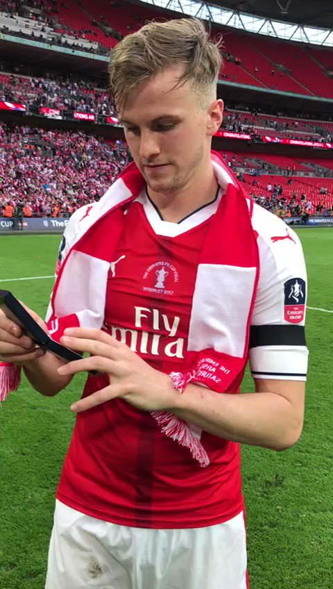 Rob Holding:  May 2016: Relegated to League 1 with Bolton  May 2017: Starts & wins in the FA Cup Final with Arsenal https://t.co/HSuTRMiQJ7