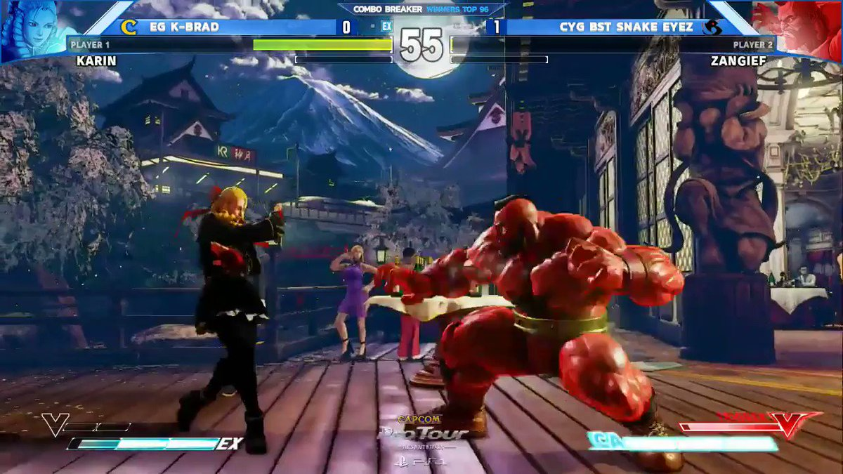 The disrespect! #CPT2017 #CB2017   Watch SFV action from Combo Breaker...