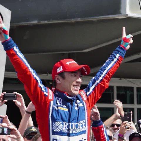 A dream come true! #Indy500