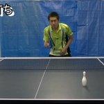 これは相当な技術!卓球の打ち方集動画がすごいw