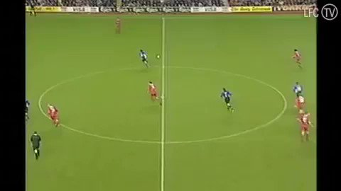 Happy Birthday to Steven Gerrard!  This was his first Liverpool goal!
