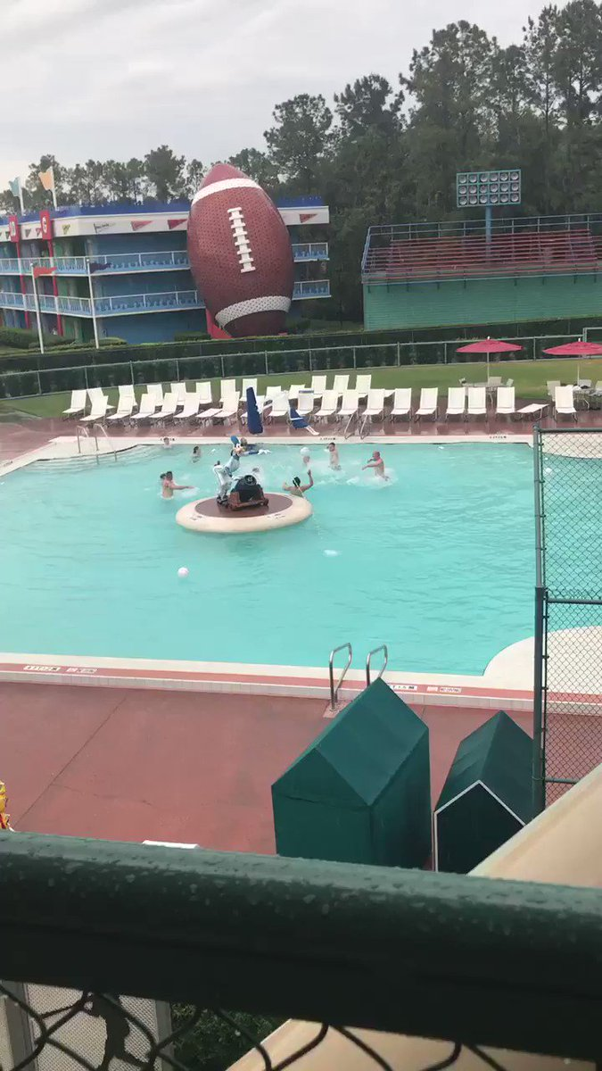 Wild monkeys have been spotted in the pool! #obhsgoestodisney