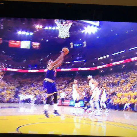 JaVale gonna need to sit for a few minutes. #NBAFinals https://t.co/Y8xwhf5Mgf