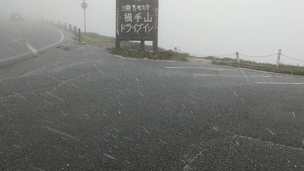 シーズン突入!? #shigakogen #nagano #japan #渋峠 #横手山 https://t.co/zBsnWS8V1G