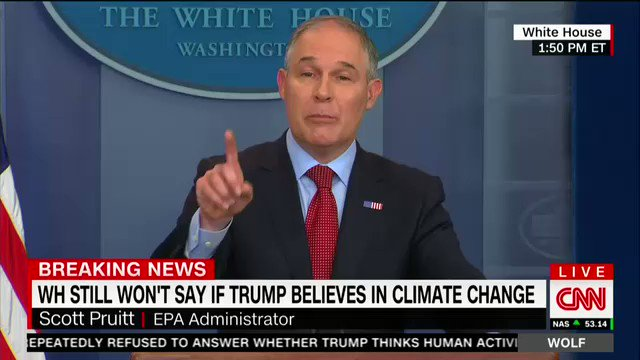 EPA chief uses flawed NYT column from Bret Stephens to justify Trump pulling out of Paris agreement