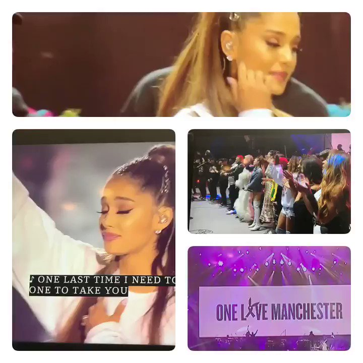 Great performance #OneLoveManchester moments to stand strong no matter what... @ArianaGrande show..