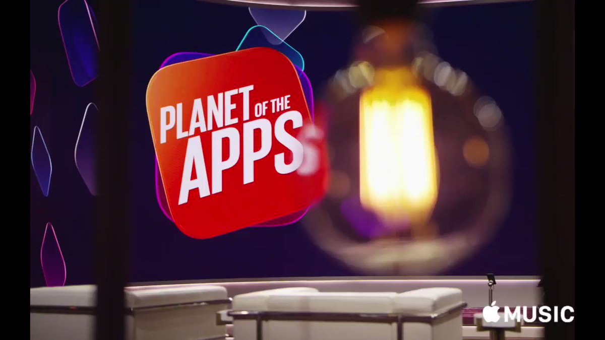 Meet the next icons. #PlanetOfTheApps begins tonight, only on @AppleMusic.