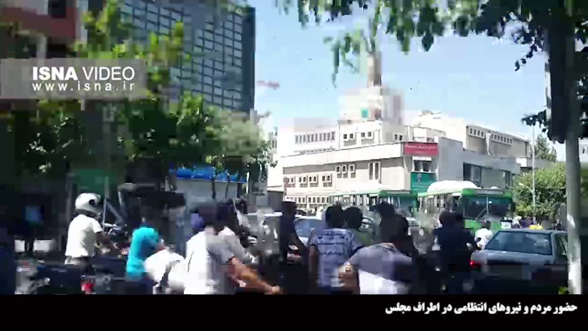 Αποτέλεσμα εικόνας για Διπλή επίθεση ενόπλων σημειώθηκε το πρωί της Τετάρτης στο Ιράν