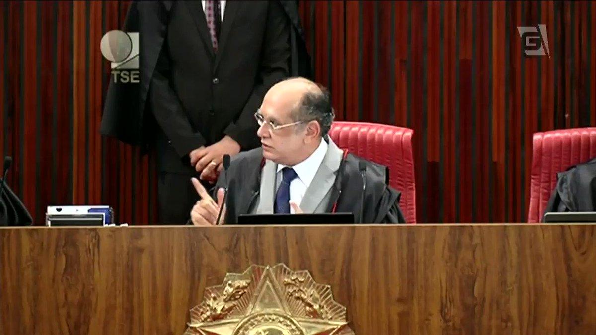 Toma, Gilmar Mendes! Juiz existe pra julgar, não pra ser estrela de TV. https://t.co/7ZhFbBhSGC