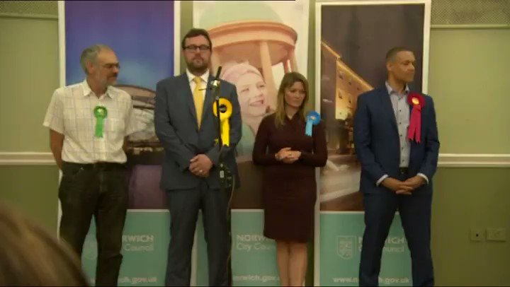 Labour's Clive Lewis is a very happy man after holding his seat in Norwich South. #GE2017 https://t.co/L0bhYbLkU5 https://t.co/JBARO3P1BB