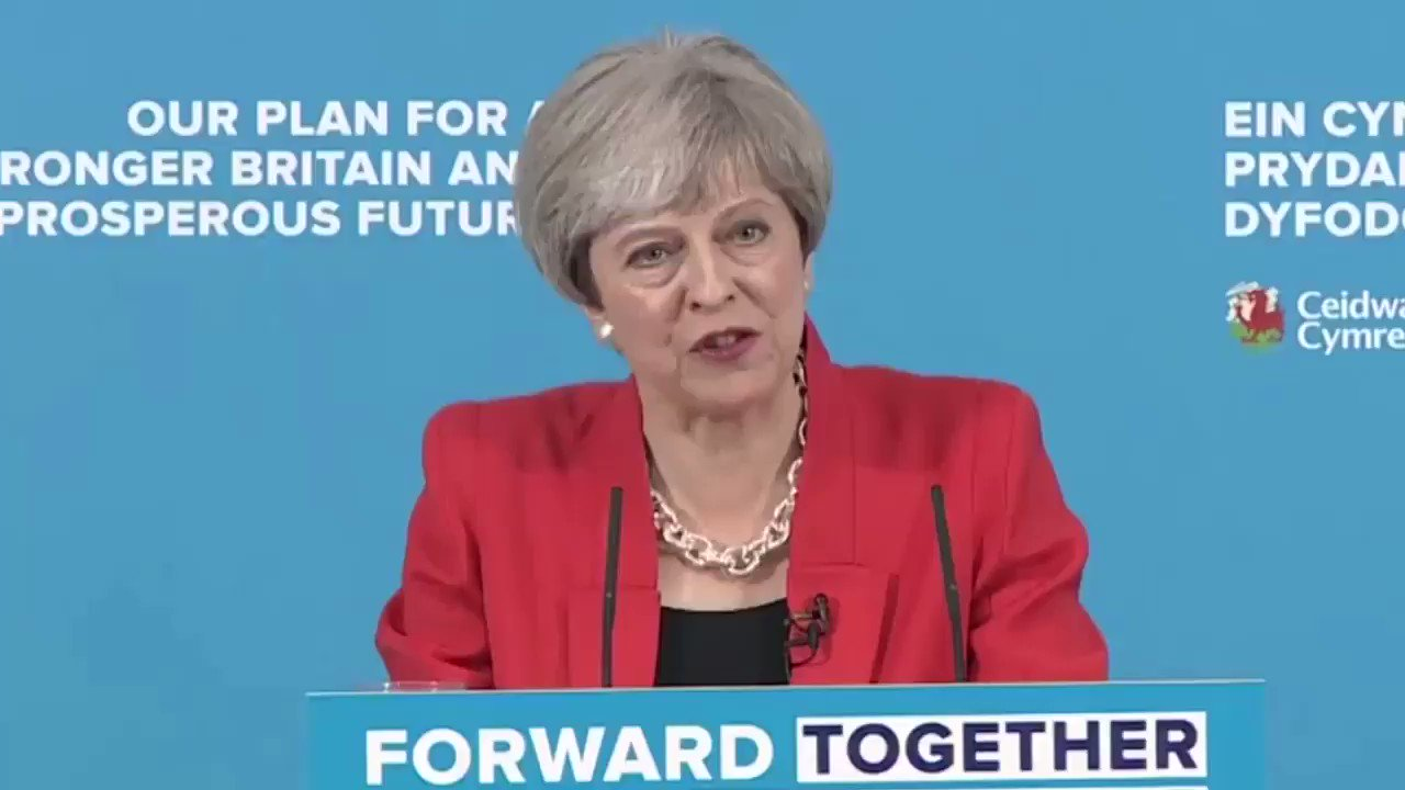Theresa May makes statement on #Election2017 https://t.co/Mj2VFiUC9f