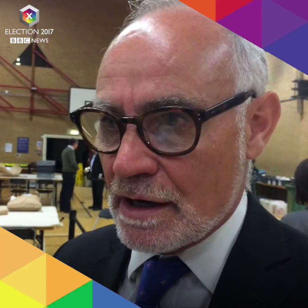 'The electorate got it wrong', says Conservative MP @CrispinBlunt. #BBCelection #hungparliament #GE2017 https://t.co/xpEJ3fya73