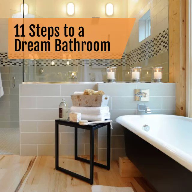 11 Steps to a Dream Bathroom