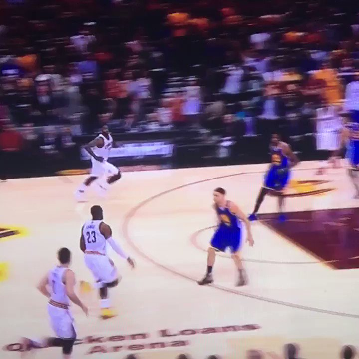 LeBron really did this in an #NBAFinals game. https://t.co/kjqSOsU9CB