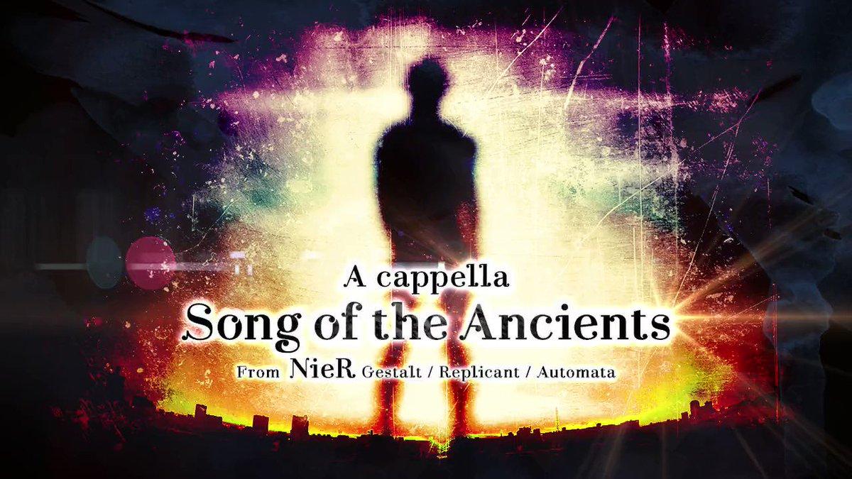 祝!?10週年記念に大好きな「NieR Gestalt / Replicant / Automata」より「イニシエノウタ」を全部俺の声で歌いました。聴いてください、むしろ聴け!うおー! https://t.co/kZz4CD77a8