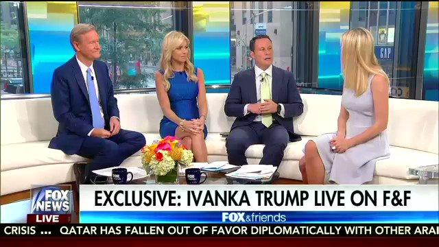 Ivanka Trump Surprised by 'Level of Viciousness' in Washington DC