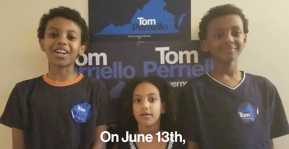 Do it for the kids, Virginia. Vote today. https://t.co/hORsx8N6oK