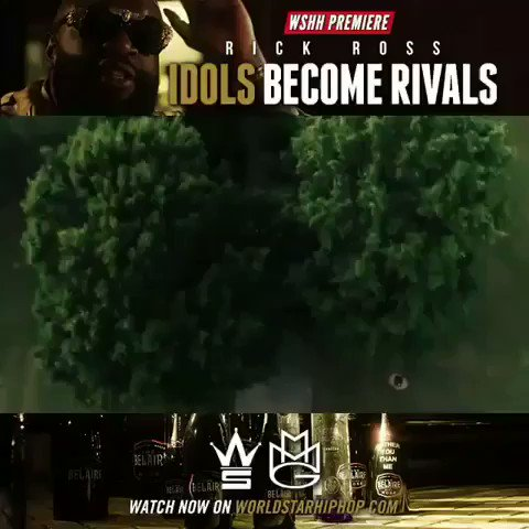 Go to @worldstar rite now and watch @RickRoss new video for #idolsbecomerivals. #biggest""